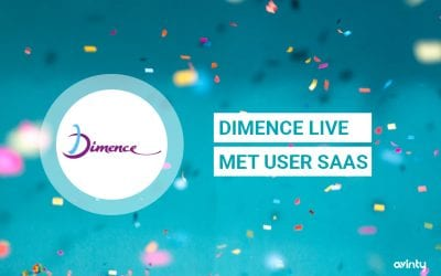 Dimence is live met USER SaaS